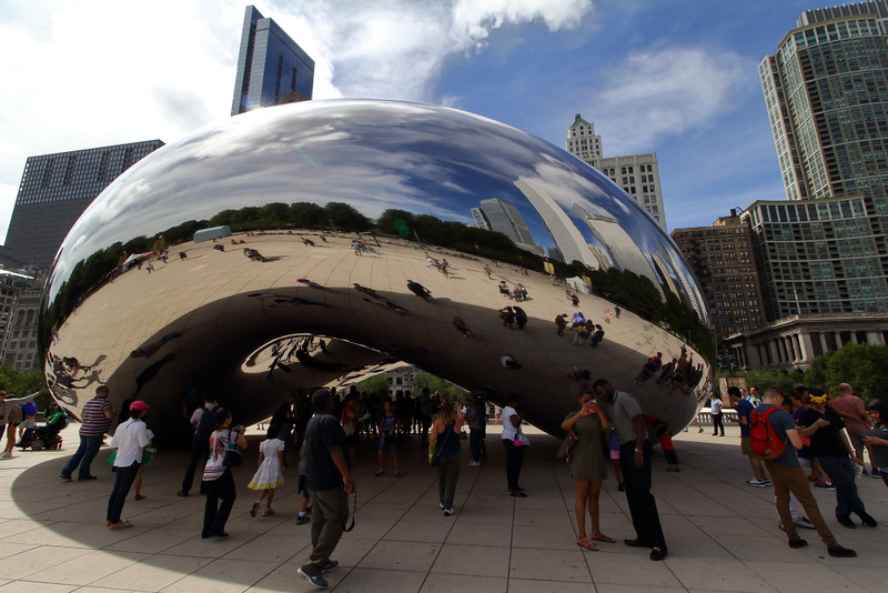Cloud Gate (The Bean), Millennium Park