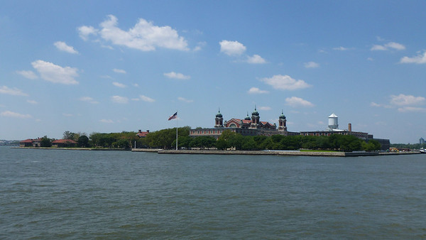 Ellis Island - Immigration Museum (this was closed at the time).