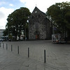 Stavanger Domkirken, looking toward the East at the church entrance.