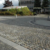 Cool cobblestones on the walk from the Hotel to the Stavanger Cathedral.