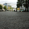 Waves of Cobblestones outside Stavanger Domkirken