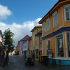 Near Gamle Stavanger, very colorful buildings