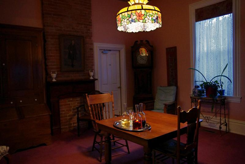 Parlor, Main Street Inn Bed and Breakfast, Saint Genevieve, Missouri.