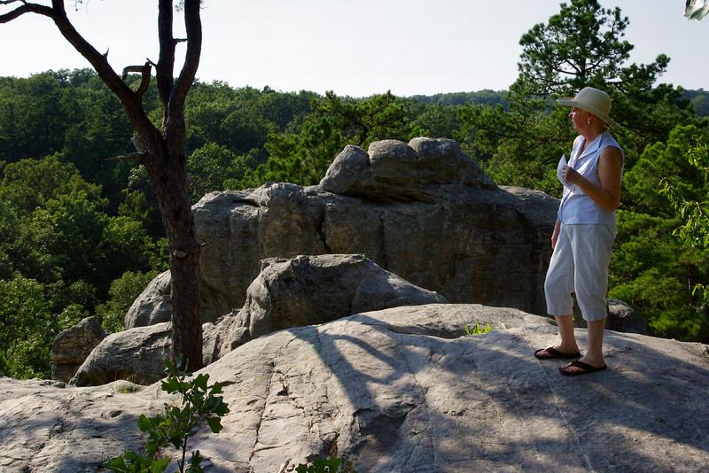 Rita, Pickle Springs Natural Area near Saint Genevieve, Missouri.