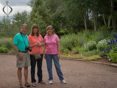 Doug, Angie, and Connie ~ New species in the garden?
