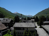 Andermatt, Switzerland from the Hotel Monopol