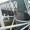 Loved the juxtaposition: old truss bridge (railroad), new suspension bridge (pedestrian).