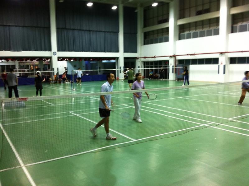 Litmus (Shi TianLei) and Lauren (Li Qing) - a formidable doubles team.