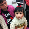Cutest kid in the entire world, found on Shanghai Metro Line 2. The search is over.