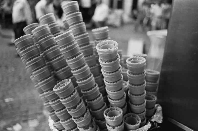 Ice cream cones, Istanbul Turkey 2009