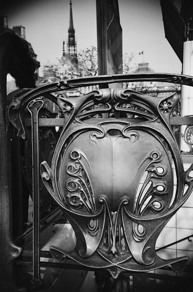 Metro Station, Paris, France 2001