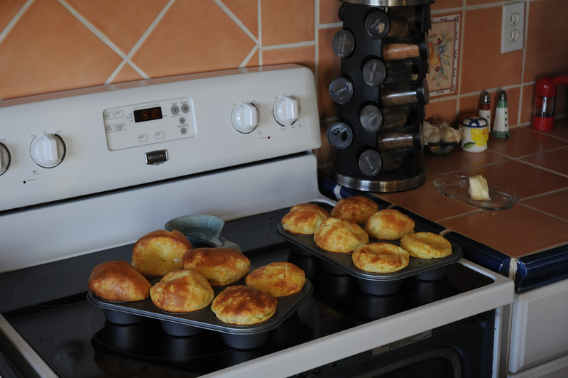 Popovers are a favorite breakfast of our girls