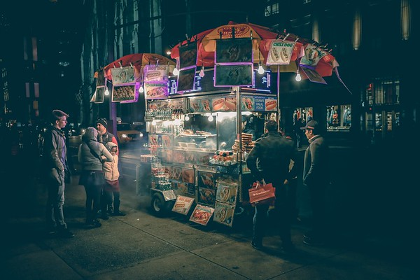 Street food safety travel
