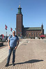 Son Mark near Stockholm City Hall