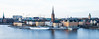 Beautiful Stockholm with much urban renewal