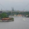 Overlook view in Stockholm, Sweden.