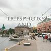 Harbor view in Stockholm, Sweden.