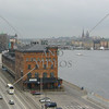 View from the cruise ship port in Stockholm, Sweden.