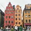 Old town square in Stockholm, Sweden.