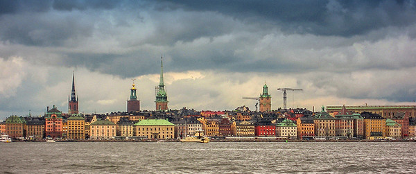 Stockholm Harbor - from boat