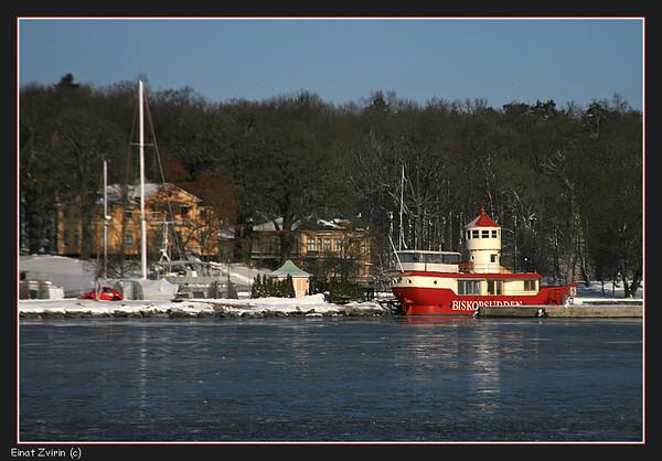 Red Chaser<br /> Biskopsudden Lightship, Stockholm