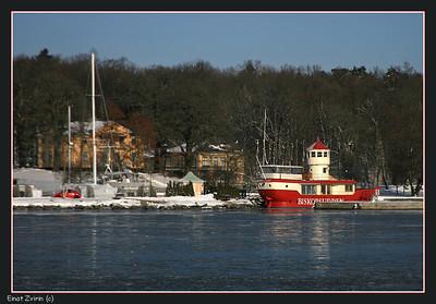 Red Chaser Biskopsudden Lightship, Stockholm