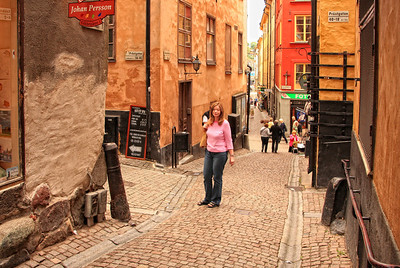Gamla Stan (Old City) - Stockholm - contrast enhanced