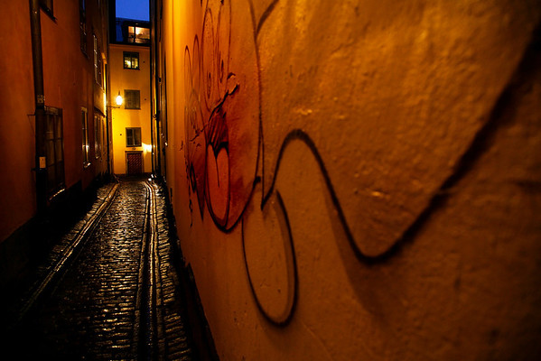 Stockholm, late light