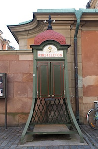 Phone Booth Stockholm Sweden