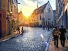 Old Town Tallin Sunset