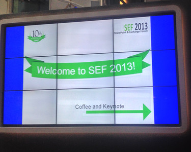 Welcome to SEF 2013!