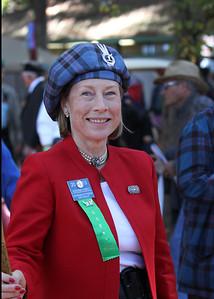 Margaret Elliott, Clan Chief of the Elliott Clan.