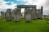 Stonehenge and Lacock village : Stonehenge, Woodhenge and Lacock village in Wiltshire, England