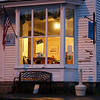 IMAGE 16: Most lobsterman start their day around 3:30 AM.  This family restaurant in Stonington opens at 5:30 AM.  You can see a customer seated already.  This is where I got my morning coffee before I started shooting.