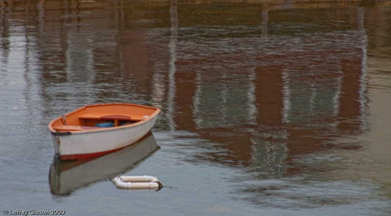IMAGE 20: Very early morning reflection.  I was lucky to get this shot because of the wind.