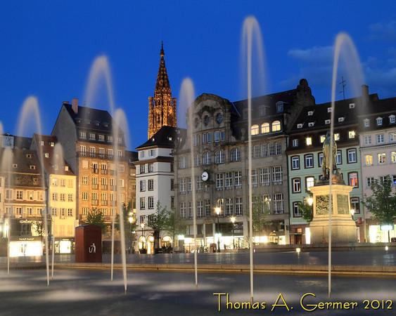 Place Kleber in Strasbourg, France.<br /> <br /> Daily Photo: 5/21/2012