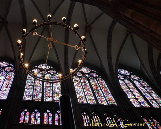 Inside the Cathédrale Notre Dame de Strasbourg.<br /> <br /> Daily Photo: 5/24/2012