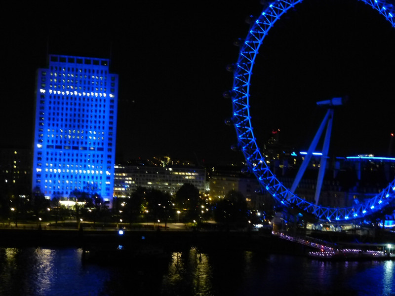 London Eye from Royal Horseguards Hotel room