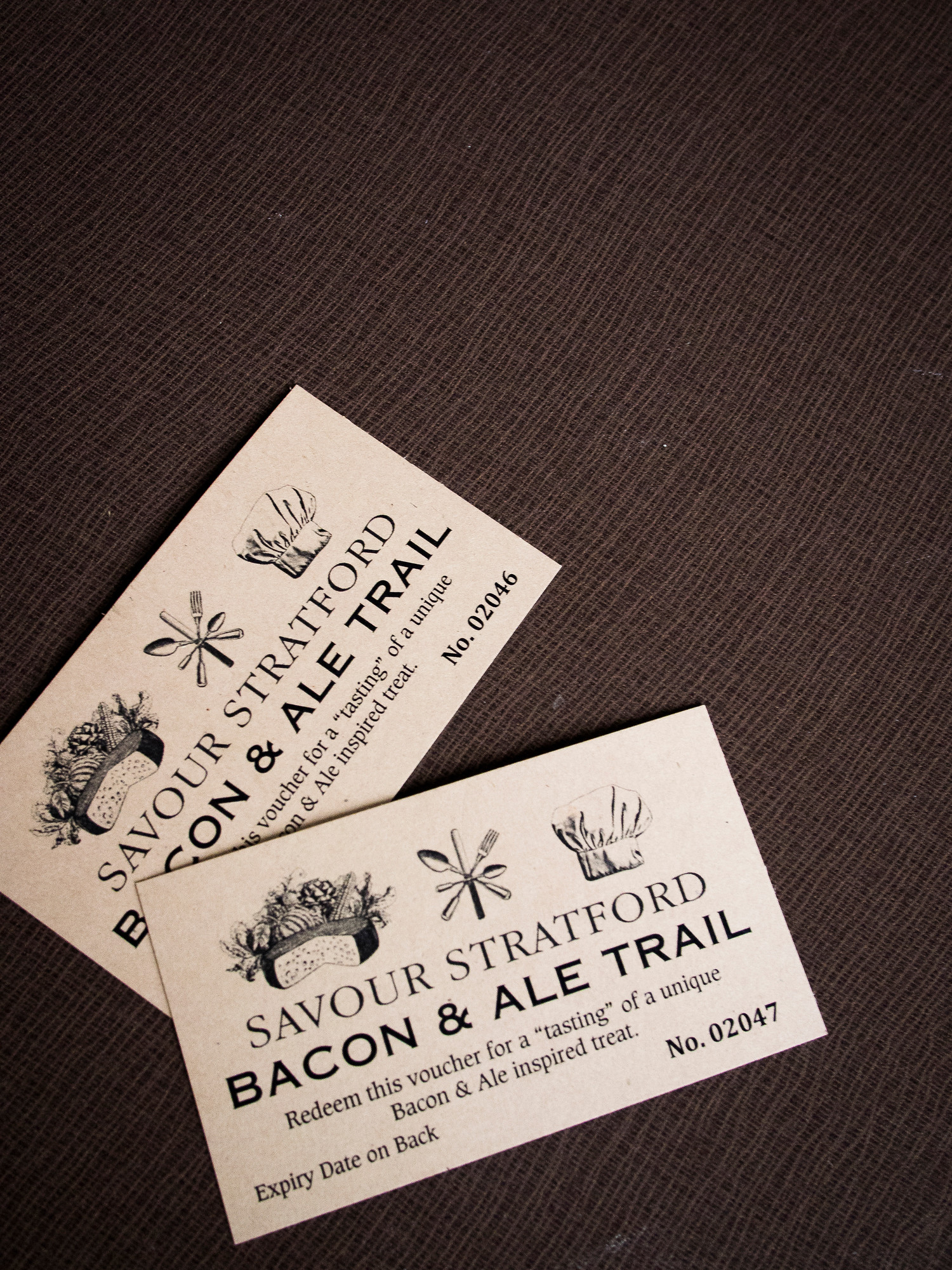 The bacon and ale trail features 13 spots in Stratford to stop for a bit of pork and a pint of beer.