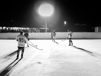 Slovakian Army Street Hockey