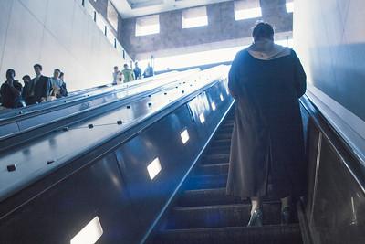 Riding the Escalator