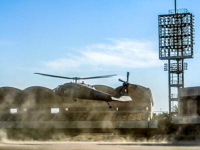Blackhawk Landing Baghdad
