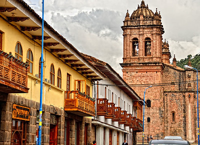 Cusco city of balconies