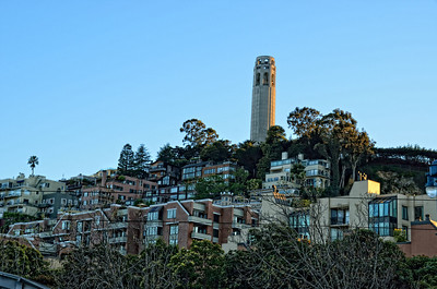 Ocean view Coit Tower