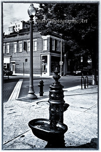 Fountain for watering horses on the City Market in Roanoke, VA
