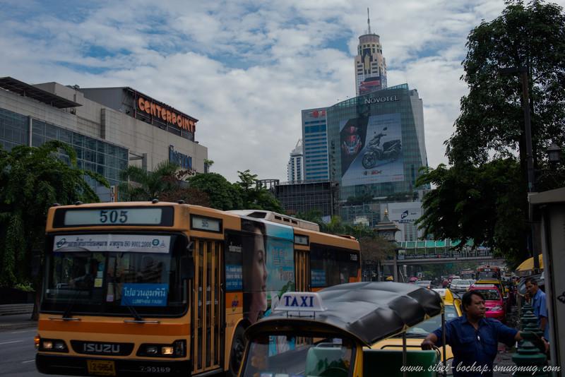 street view of bangkok