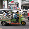 tuk-tuk with auntie buying 1/2 the market