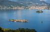 Isola Pescatori and Lake Maggiore from Mottarone
