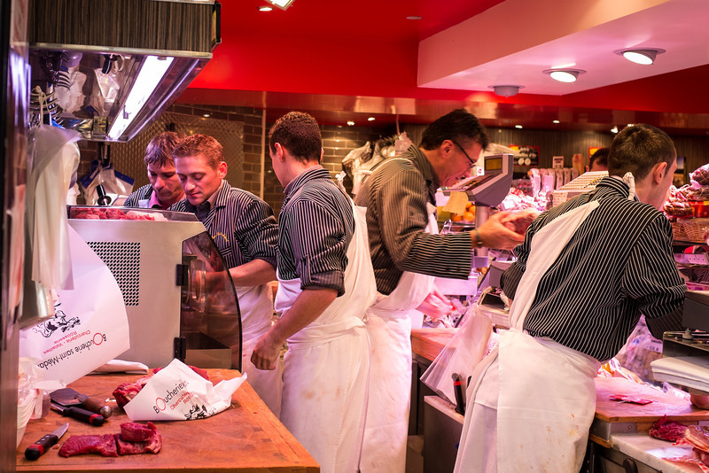 Busy butchers