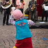 Tiny dancer enjoying the music